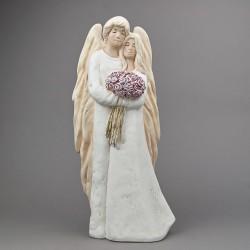 Anděl Pár s kyticí - velký
