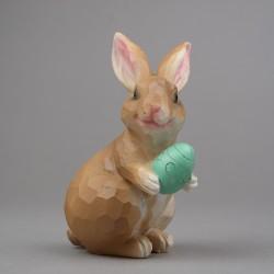 Zajíc s vejcem, lowpoly