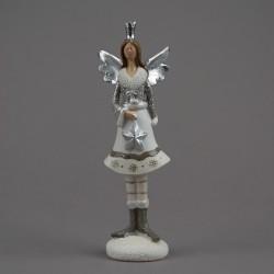 Anděl malý se stříbrnýmí...