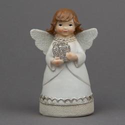 Anděl s dárkem v rukou
