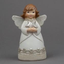 Anděl s hvězdou v rukou