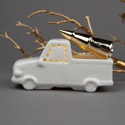 Auto - truck se zlatým...
