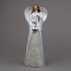 Anděl se srdcem stříbrný...