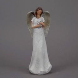 Anděl s šedýmí křídly a...
