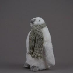 Tučňák se šálou