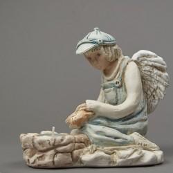 Anděl Hlapec s kaprem v...